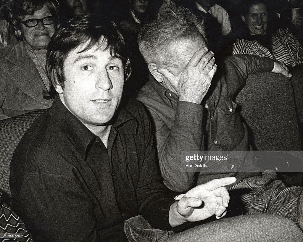 Robert De Niro and Elia Kazan at the Beacon Theatre in New York City, NY