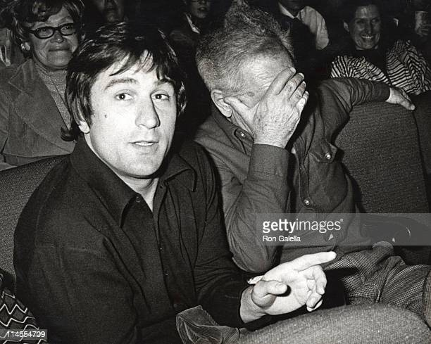 Robert De Niro and Elia Kazan during 'Ballet on Broadway' at Beacon Theatre in New York City NY United States