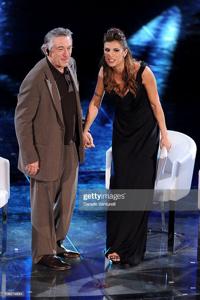 sanremo 2011 the 61st italian song festival february 18 2011 getty images. Black Bedroom Furniture Sets. Home Design Ideas