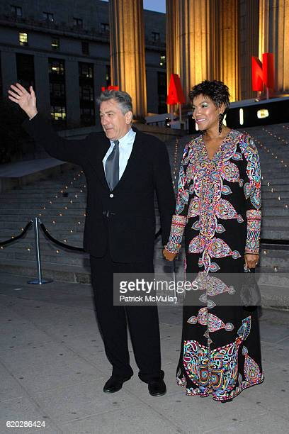 Robert De Niro and Grace Hightower De Niro attend VANITY FAIR Tribeca Film Festival Party hosted by GRAYDON CARTER ROBERT DE NIRO and RONALD PERELMAN...