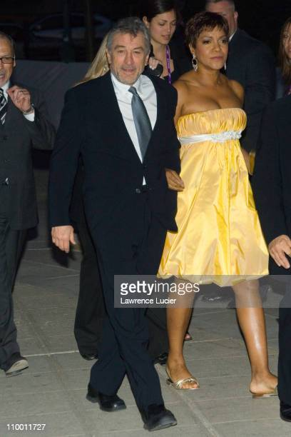 Robert De Niro and Grace Hightower during Vanity Fair Hosts The Sixth Annual Tribeca Film Festival Opening Night Party April 24 2007 at New York...