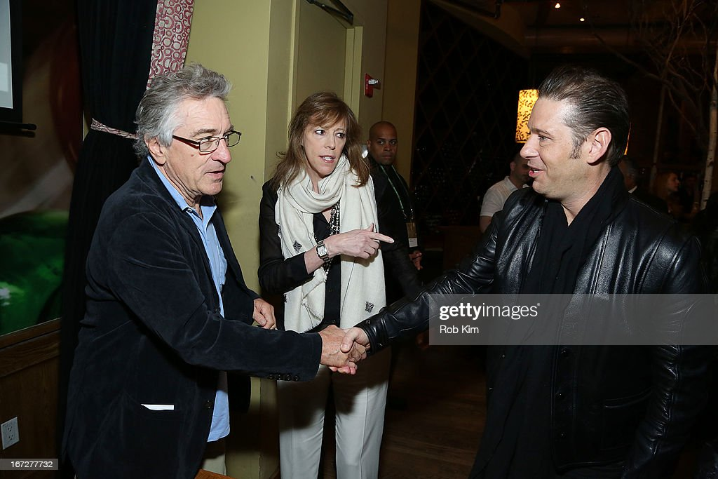<a gi-track='captionPersonalityLinkClicked' href=/galleries/search?phrase=Robert+De+Niro&family=editorial&specificpeople=201673 ng-click='$event.stopPropagation()'>Robert De Niro</a> and <a gi-track='captionPersonalityLinkClicked' href=/galleries/search?phrase=Jane+Rosenthal&family=editorial&specificpeople=202835 ng-click='$event.stopPropagation()'>Jane Rosenthal</a> attend the Directors Brunch during the 2013 Tribeca Film Festival on April 23, 2013 in New York City.