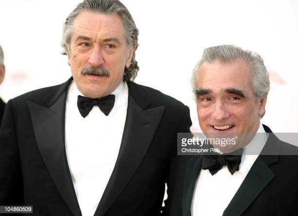 Robert De Niro and Martin Scorsese during The 31st AFI Life Achievement Award Presented to Robert DeNiro at Kodak Theatre in Hollywood California...