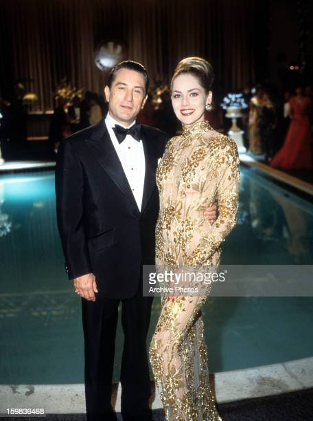 Robert De Niro and Sharon Stone for the film 'Casino' 1995