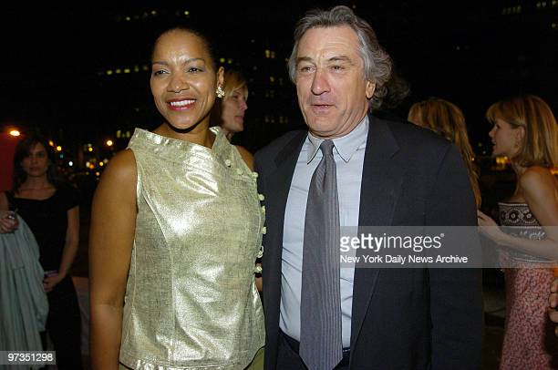 Robert De Niro and wife Grace Hightower attend a Vanity Fair party celebrating the fourth annual Tribeca Film Festival at the State Supreme...