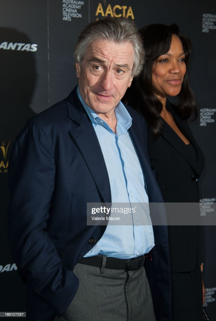 <a gi-track='captionPersonalityLinkClicked' href=/galleries/search?phrase=Robert+De+Niro&family=editorial&specificpeople=201673 ng-click='$event.stopPropagation()'>Robert De Niro</a> arrives at Australian Academy Of Cinema And Television Arts' 2nd AACTA International Awards at Soho House on January 26, 2013 in West Hollywood, California.