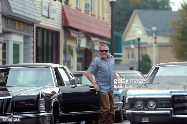 Robert De Niro as 'Frank 'The Irishman' Sheeran on the set of The Irishman on September 21 2017 in New York City