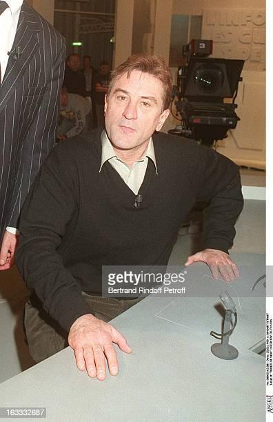 Robert De Niro at theCanal Plus Robert De Niro Interview