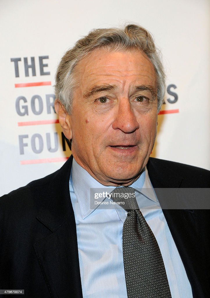 Robert De Niro attends 2015 Gordon Parks Foundation Awards Dinner and Auction at Cipriani Wall Street on June 2 2015 in New York City