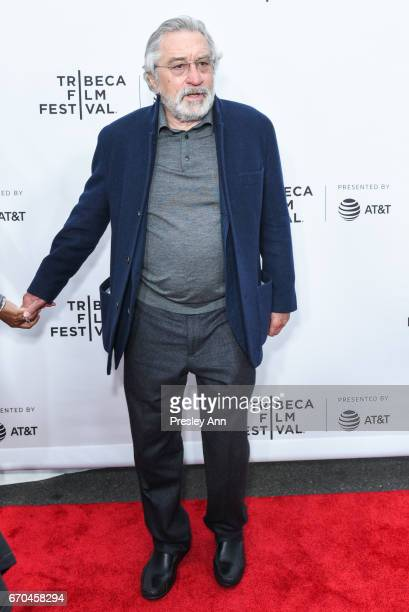 Robert De Niro attends 2017 Tribeca Film Festival 'Clive Davis The Soundtrack Of Our Lives' World Premiere Opening Night at Radio City Music Hall on...