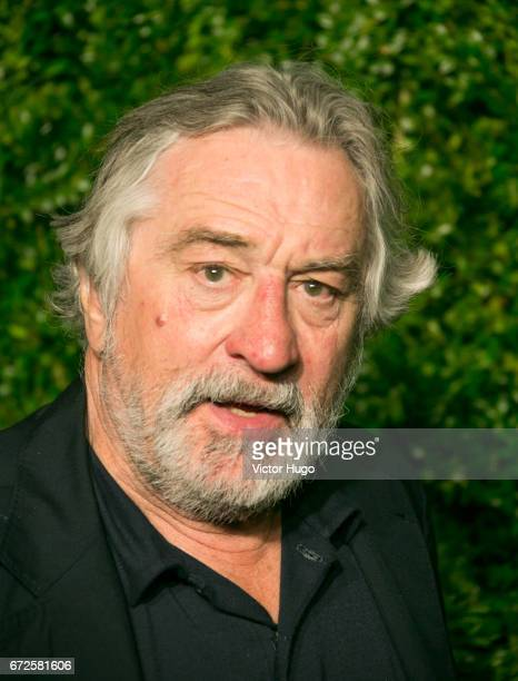 Robert De Niro attends CHANEL Tribeca Artists Dinner at Balthazer on April 24 2017 in New York City