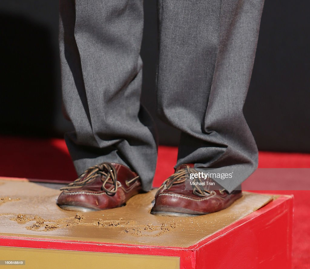 Robert De Niro attends his hand and footprint ceremony held in conjunction with the film 'Silver Linings Playbook' held at TCL Chinese Theatre on February 4, 2013 in Hollywood, California.