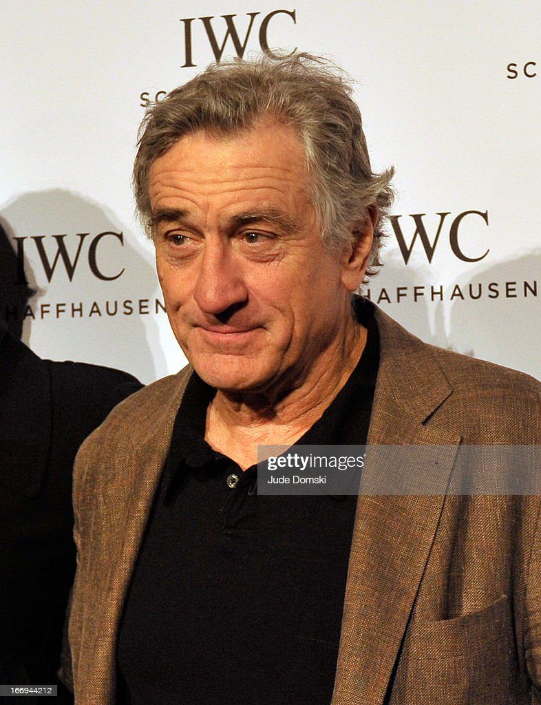 <a gi-track='captionPersonalityLinkClicked' href=/galleries/search?phrase=Robert+De+Niro&family=editorial&specificpeople=201673 ng-click='$event.stopPropagation()'>Robert De Niro</a> attends IWC And Tribeca Film Festival Celebrate 'For The Love Of Cinema' at Urban Zen on April 18, 2013 in New York City.