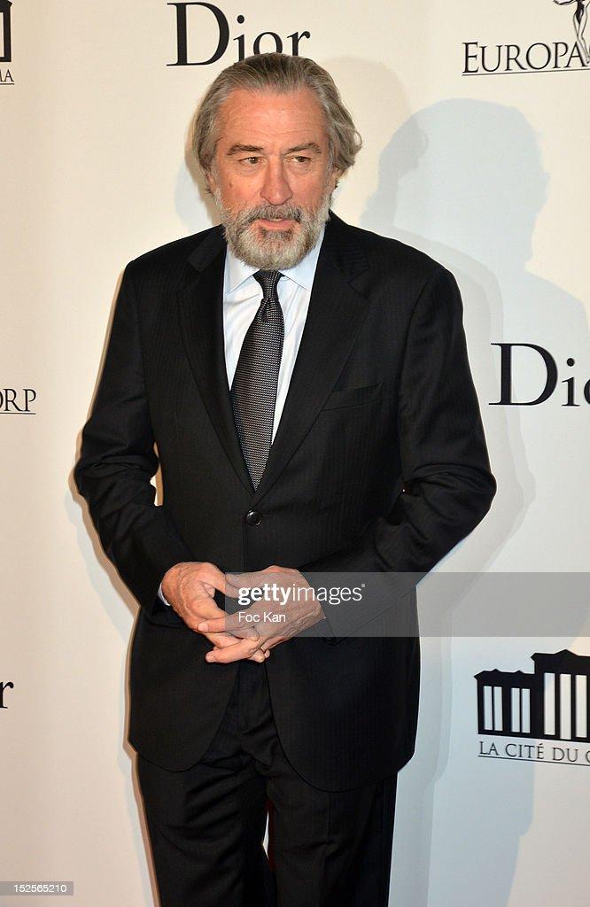 Robert De Niro attends 'La Cite Du Cinema' Launch - Red Carpet at Saint Denis on September 21, 2012 in Paris, France.