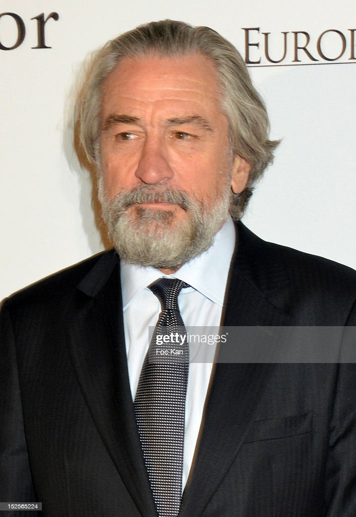 Robert De Niro attends 'La Cite Du Cinema' Launch - Red Carpet at Saint Denis on September 21, 2012 in Paris, France.