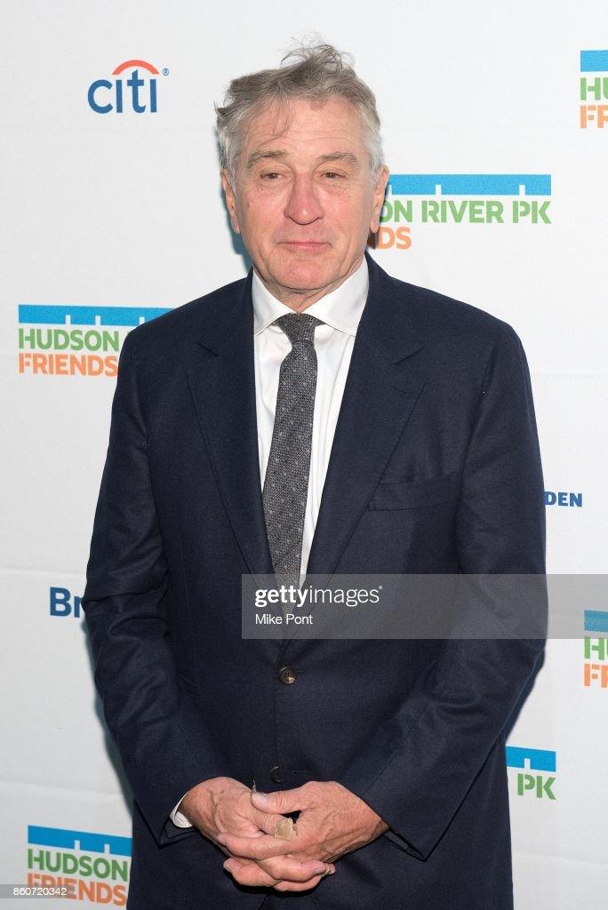 Robert De Niro attends the 2017 Hudson River Park Annual Gala at Hudson River Park's Pier 62 on October 12, 2017 in New York City.