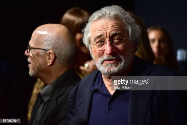 Robert De Niro attends the 5th Annual IWC Schaffhausen Tribeca Film Festival 'For The Love Of Cinema' Gala at Spring Studios on April 20 2017 in New...