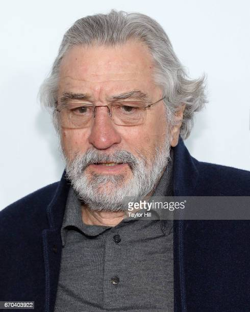Robert De Niro attends the 'Clive Davis The Soundtrack of Our Lives' 2017 Opening Gala of the Tribeca Film Festival at Radio City Music Hall on April...