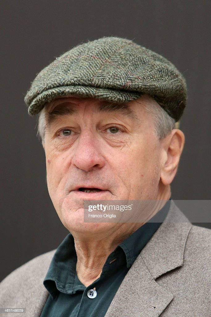 <a gi-track='captionPersonalityLinkClicked' href=/galleries/search?phrase=Robert+De+Niro&family=editorial&specificpeople=201673 ng-click='$event.stopPropagation()'>Robert De Niro</a> attends the 'Grudge Match' Rome photocall on January 7, 2014 in Rome, Italy.