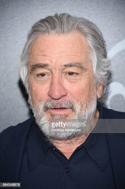 Robert De Niro attends the 'Hands Of Stone' US premiere at SVA Theater on August 22 2016 in New York City