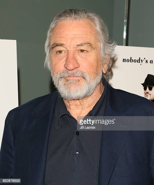 Robert De Niro attends the premiere of Sony Pictures Classics' 'The Comedian' on January 27 2017 in Los Angeles California