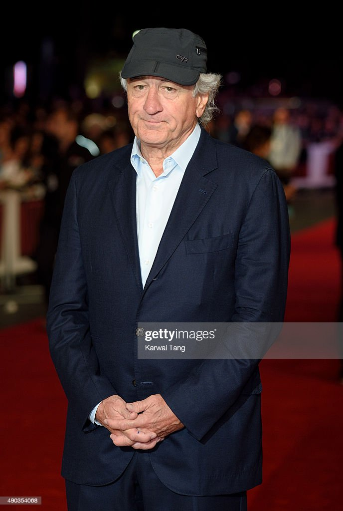 Robert De Niro attends the UK Premiere of 'The Intern' at Vue West End on September 27, 2015 in London, England.