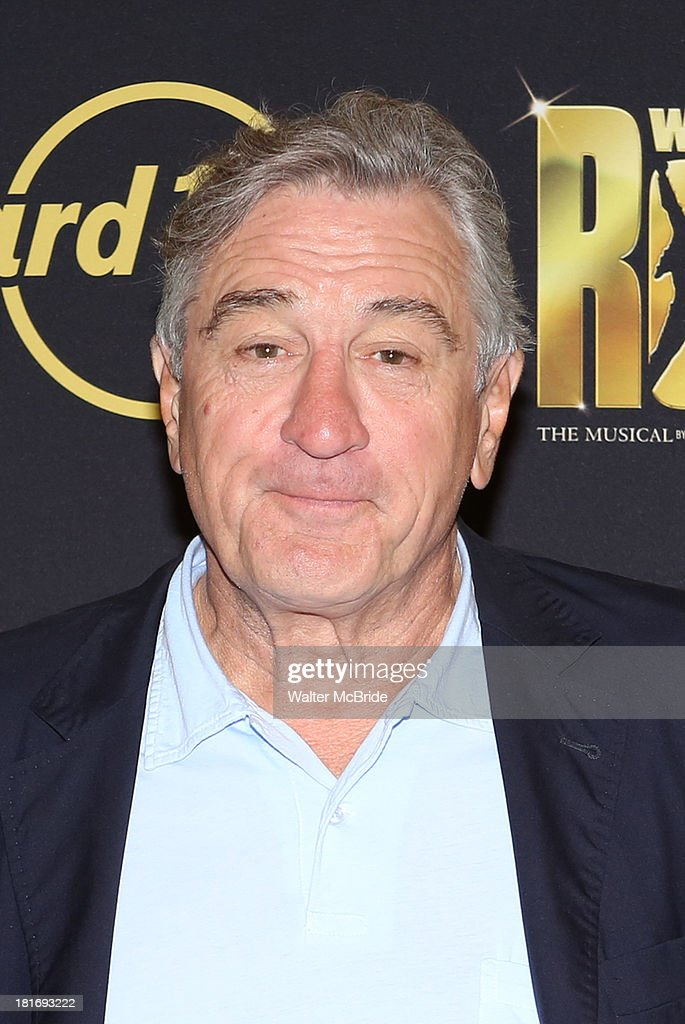 <a gi-track='captionPersonalityLinkClicked' href=/galleries/search?phrase=Robert+De+Niro&family=editorial&specificpeople=201673 ng-click='$event.stopPropagation()'>Robert De Niro</a> attends the 'We Will Rock You' North America Tour Rehearsals at The New 42nd Street Studios on September 23, 2013 in New York City.