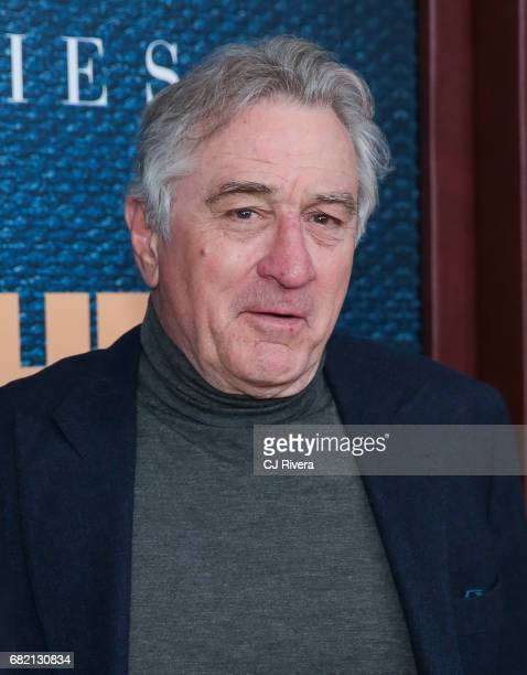 Robert De Niro attends 'The Wizard of Lies' New York Premiere at The Museum of Modern Art on May 11 2017 in New York City