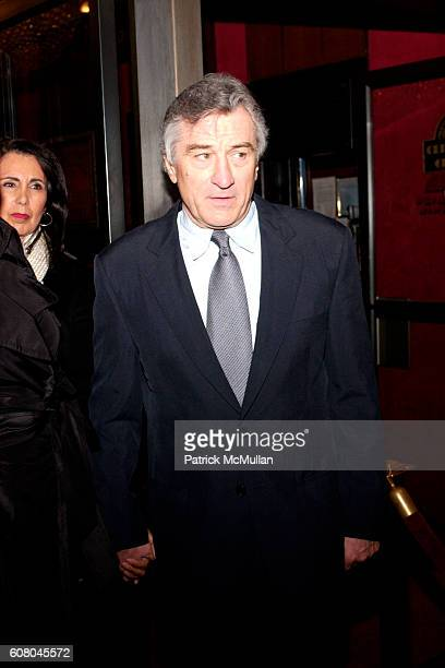 Robert De Niro attends The World Premiere of THE GOOD SHEPHERD at Ziegfeld Theatre on December 11 2006 in New York City