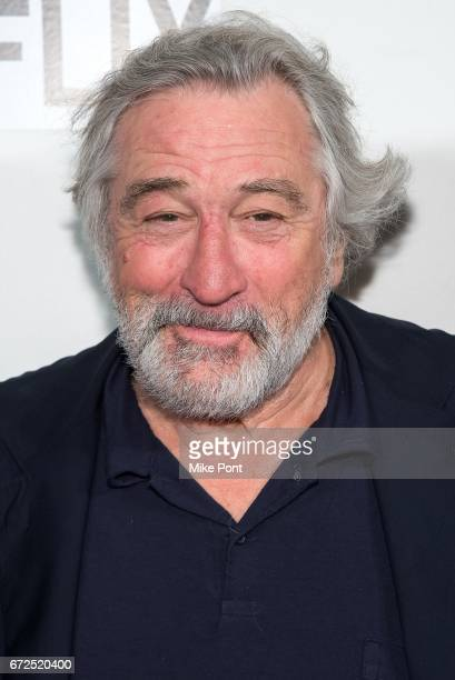Robert De Niro attends Tribeca Talks Director's Series Noah Baumbach during the 2017 Tribeca Film Festival at BMCC Tribeca PAC on April 24 2017 in...
