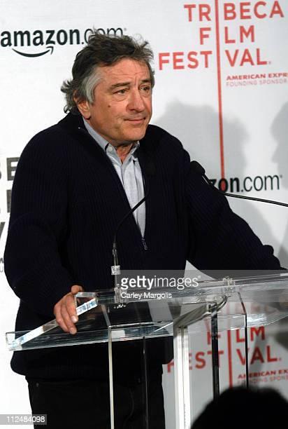 Robert De Niro cofounder of the Tribeca Film Festival
