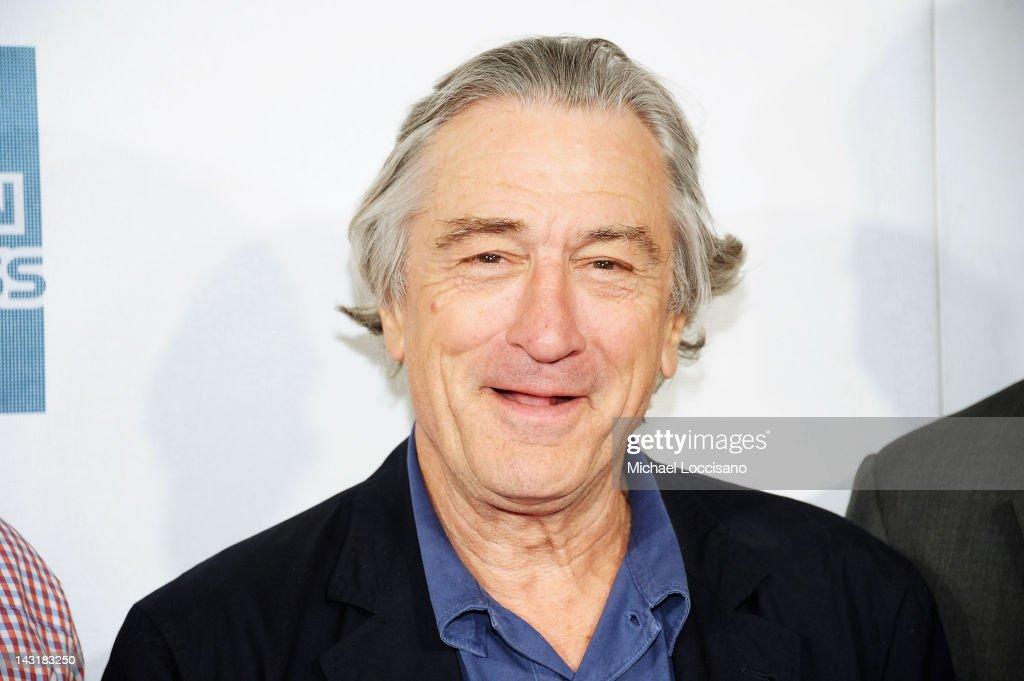 Robert De Niro, Co-Founder Tribeca Film Festival, attends the Tribeca/ESPN Sports Film Festival Gala for Benji during the 2012 Tribeca Film Festival at the Borough of Manhattan Community College on April 20, 2012 in New York City.