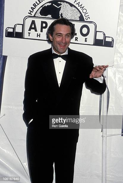 Robert De Niro during 1st Annual Apollo Theater Hall of Fame Induction at Apollo Theater in New York City New York United States