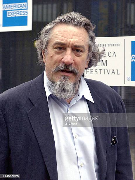 Robert De Niro during 2003 Tribeca Film Festival 'Chinese Coffee' Screening at Tribeca Performing Arts Center in New York New York United States