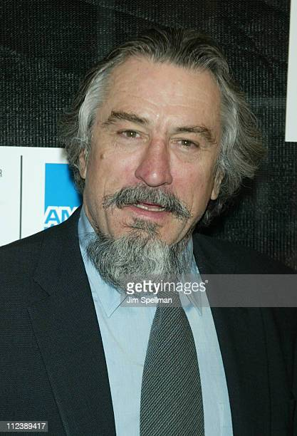 Robert De Niro during 2003 Tribeca Film Festival 'Down With Love' World Premiere at Tribeca Performing Arts Center 199 Chambers Street in New York...