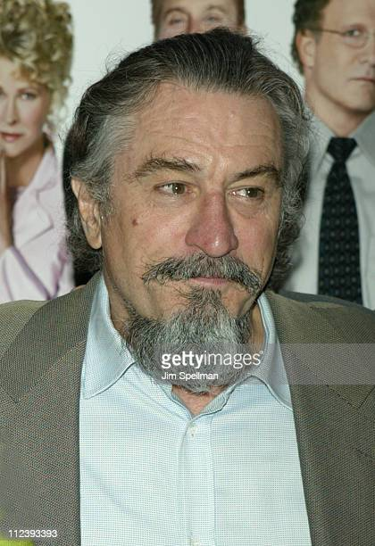 Robert De Niro during 2003 Tribeca Film Festival Premiere of 'The InLaws' at Tribeca Performing Arts Center in New York City New York United States