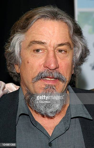 Robert De Niro during 2003 Tribeca Film Festival Press Conference at Embassy Suites Hotel in New York City New York United States