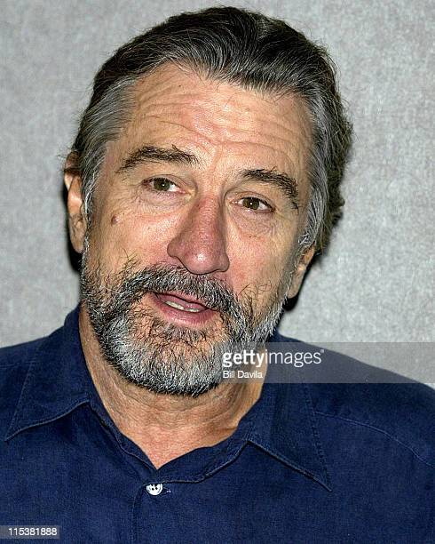 Robert De Niro during 'City By The Sea' Premiere in New York City at Union Square Theater in New York City New York United States