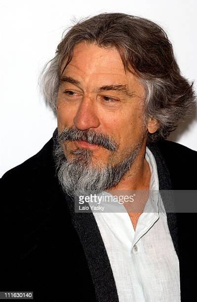 Robert de Niro during Press Conference for 'The Bridge Of San Luis Rey' at Santo Mauro Hotel in Madrid Spain