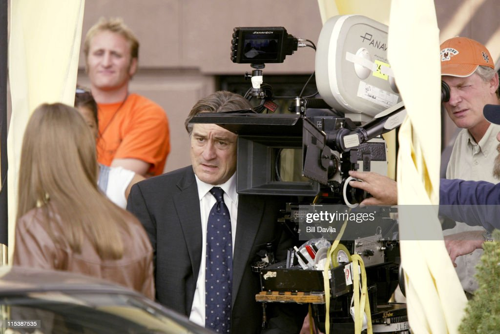 Robert De Niro during Robert DeNiro Filming 'Code Blue' at Brooklyn New York in Brooklyn, New York, United States.