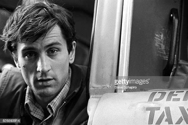 Robert De Niro during the filming of Taxi Driver
