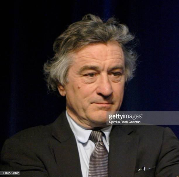 Robert De Niro during The Young Audiences New York Children's Arts Medal Benefit at Marriott Marquis in New York City New York United States