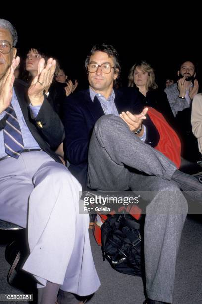 Robert De Niro during Willy Smith Memorial at Parson's School of Design in New York City New York United States