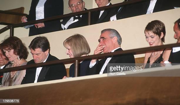 Robert De Niro Ellen Burstyn Helen Morris Martin Scorsese and Winona Ryder