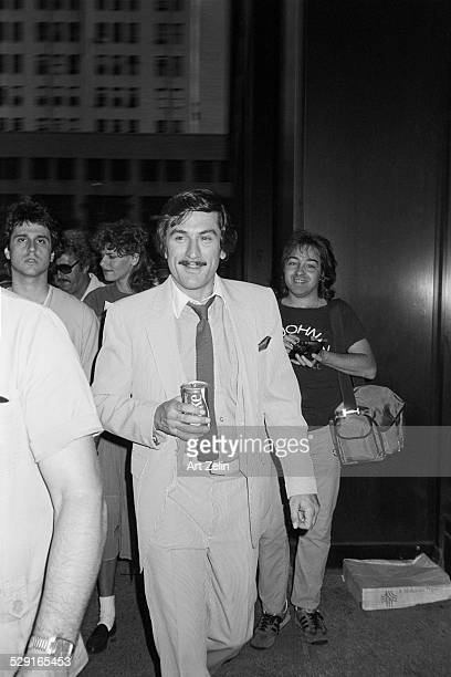 Robert De Niro holding a Coke circa 1970 New York