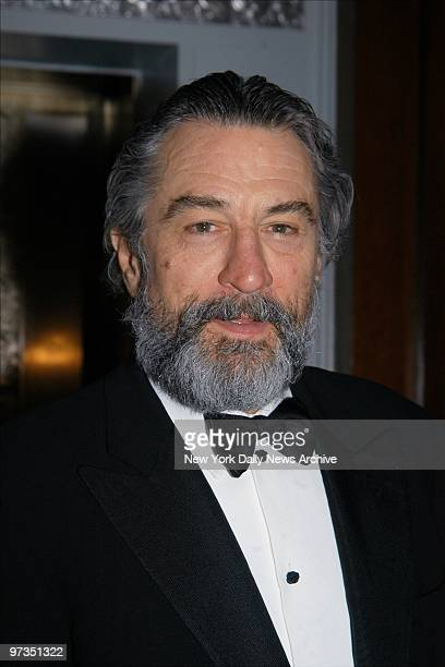 Robert De Niro is present at the New Yorker for New York awards dinner at the WaldorfAstoria He was honored at the event