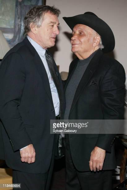 Robert De Niro Jake LaMotta during MGM Home Entertainment celebrates the 25th Anniversary of 'Raging Bull' at Ziegfeld Theater in New York New York...