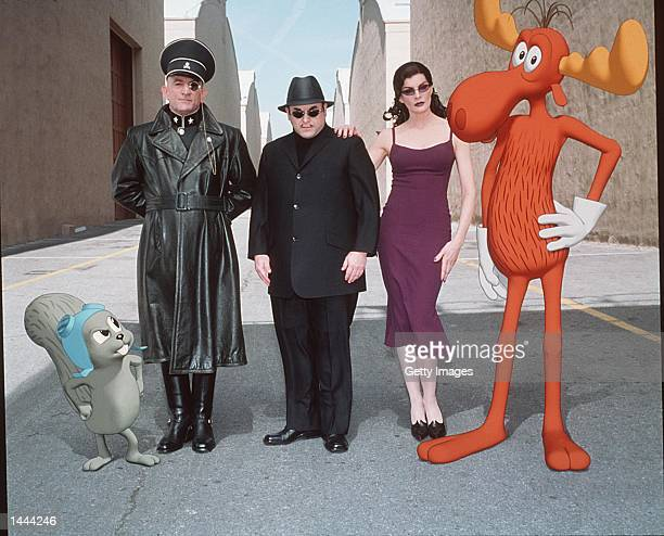 Robert De Niro Jason Alexander and Rene Russo star in 'The Adventures of Rocky and Bullwinkle' Holywood California