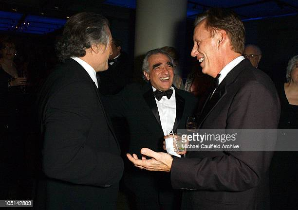 Robert De Niro Martin Scorsese and James Woods during 31st AFI Life Achievement Award Presented to Robert De Niro After Party in Hollywood California...