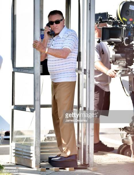 Robert De Niro seen on location for 'The Irishman' on September 25 2017 in Huntington Station New York